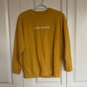 Wild honey crewneck